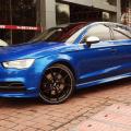 BBS, CI-R wheels, flow forming, sepang blue Audi S3