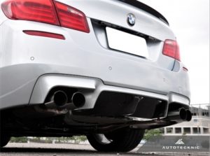 AutoTecknic, BMW, F10, M5, carbon fiber, aerodynamic, competition, center diffuser