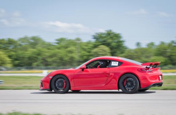 FabSpeed, tow hooks, tie downs, red powder coating, Porsche GT4 Cayman