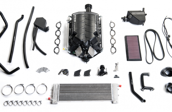 ESS Tuning, C63 Mercedes-Benz, supercharger kit