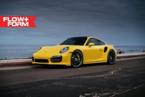 Yellow-Porsche-991-Turbo-S-with-20-inch-FF15-HRE-wheels-3