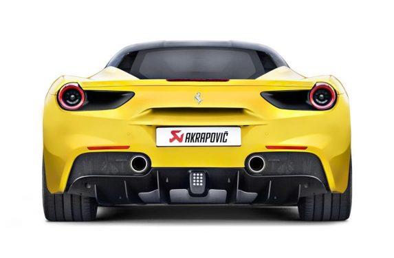 Akrapovic, Ferrari 488 GTB