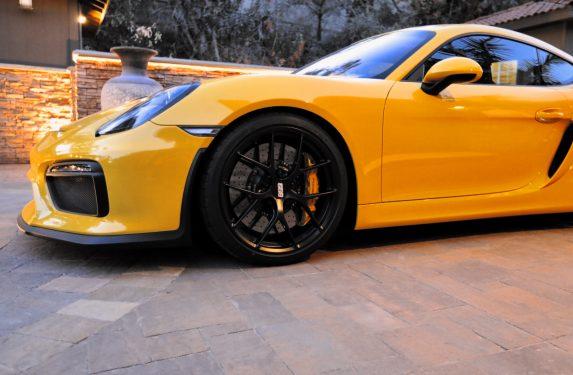 Porsche Cayman GT4, BBS FI-R wheels