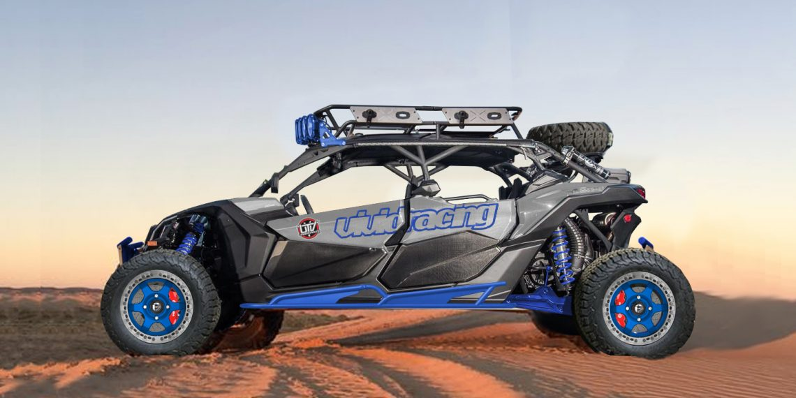 Vivid Racing x UTV Underground Project Can-Am X3 Underway