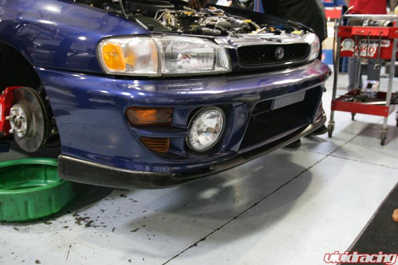 Subaru install at Vivid Racing