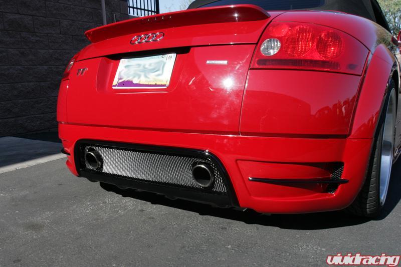 Audi tt Rieger Body Kit