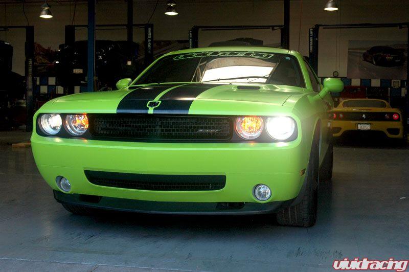 The Green Monster Dodge Challenger Vivid Racing News