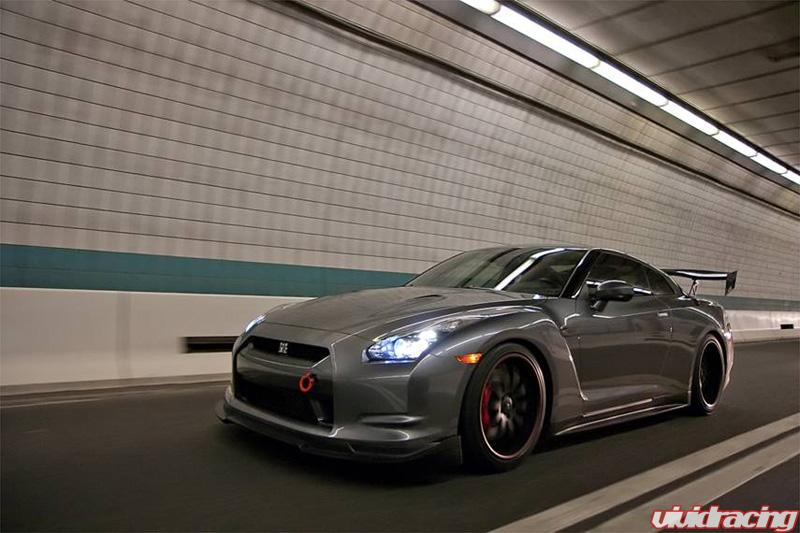 Savini Forged Flat Black On Nissan R35 Gt R Vivid Racing