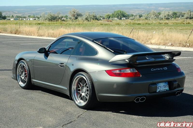 Hre C20 Wheels Installed On A Slate Gray 997 C4s