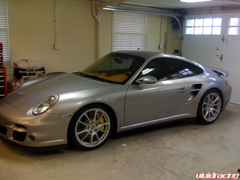 silver 997 turbo with silver gt2 wheels 6speedonline porsche forum and luxury car resource. Black Bedroom Furniture Sets. Home Design Ideas