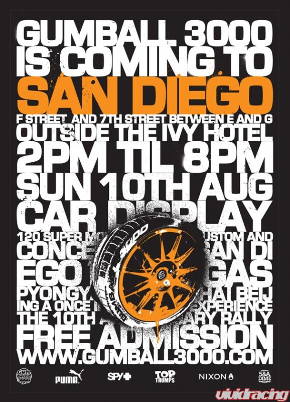 Gumball 3000 Car Display Free Admission Aug 8 11 Sf La Sd Lv Vivid Racing News