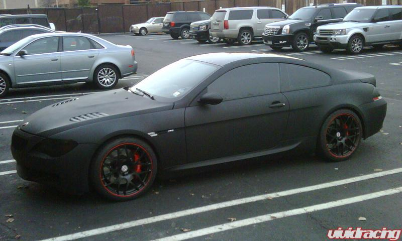 tuning bmw m6. Josh#39;s Flat Black M6 with