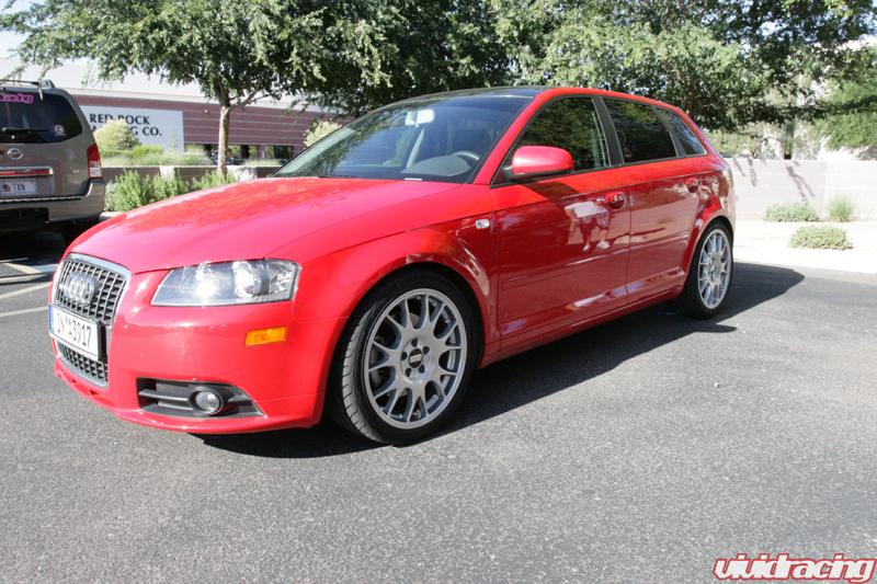 audi a3 lowered on h r springs with bbs ch wheels vivid racing news. Black Bedroom Furniture Sets. Home Design Ideas
