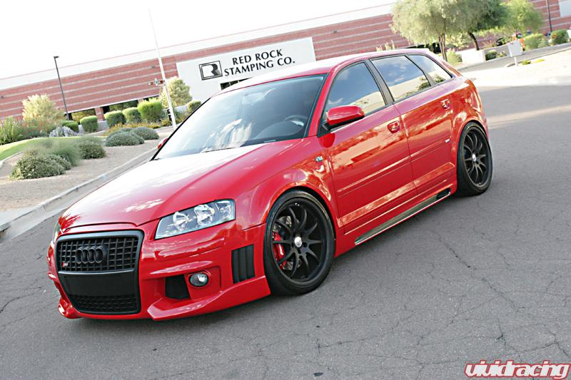 Full Rieger Body Kit Added To The Vr Audi A3 Vivid