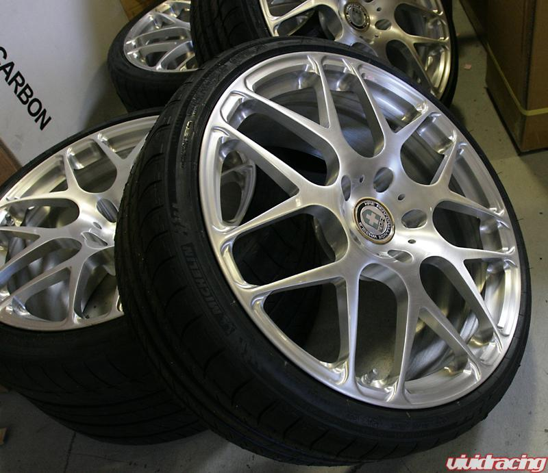 Hre P40 Brushed Wheels For Porsche 997 Turbo Vivid