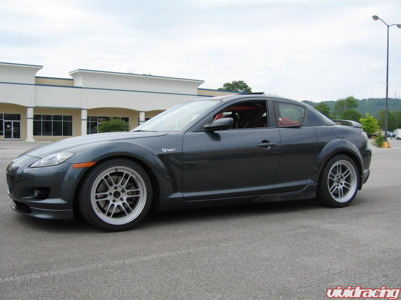 Track Prepped Mazda RX8 Gets Geared up by Vivid Racing - 5,908 views