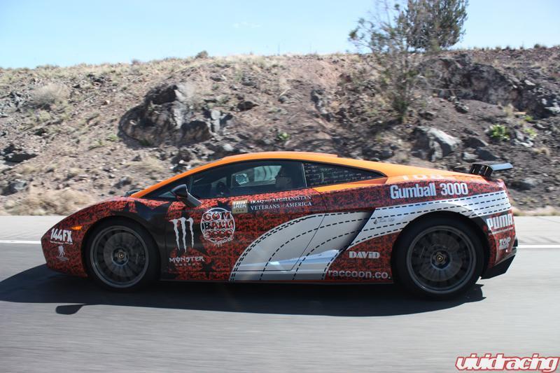 Gumball 3000 Day 4 Sedona To Santa Fe Vivid Racing News