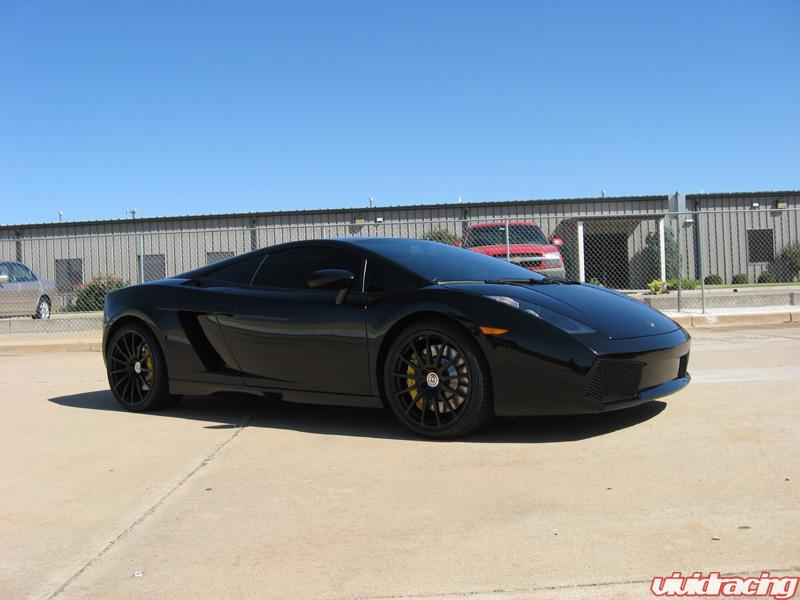 HRE Wheels M49 Monoblocks Satin Black Lamborghini Gallardo 19 and 20 inch