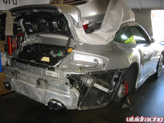 K24 18g 600hp Porsche 996tt Turbo Kit Installed Vivid