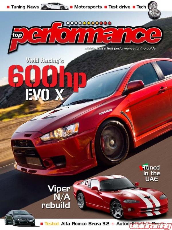Vivid Racing S Evo X Featured In Top Performance Magazine