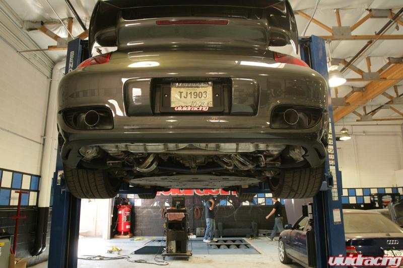 Agency Power Prototype Race Exhaust 997 Turbo