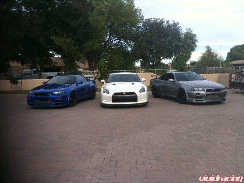 nissan skyline r34 fast and furious 4. Nissan Skyline R34 and R35