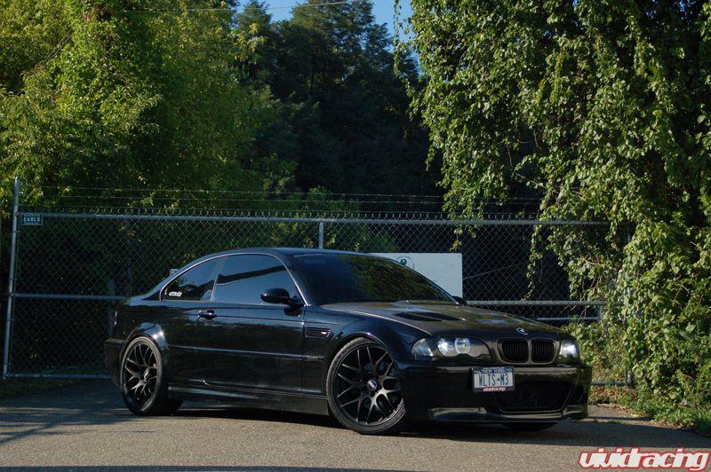 Black Rims On Black E46 Sedan