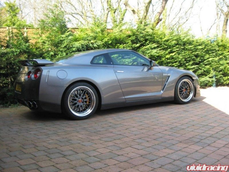 Uk Nissan Gtr With Bbs Lm Wheels