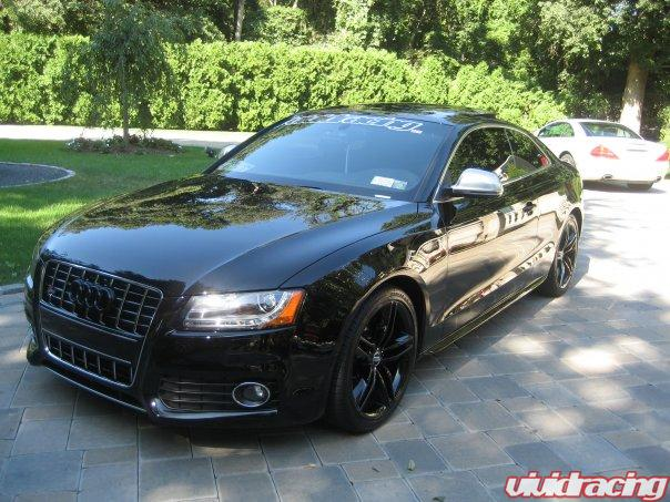 Blacked Out Audi S5 Repping Vivid Racing – Vivid Racing News