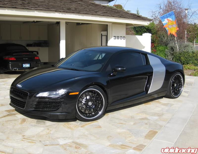 Vivid Racing News » Classic Styling of an Audi R8 with HRE Wheels