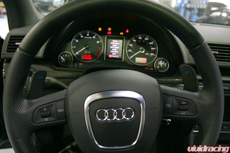 Audi Paddle Shifters Tested on B7 S4 – Agency Power