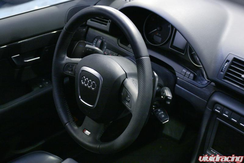 Audi S4 Gets A New Set Of Agency Power Paddle Shifters