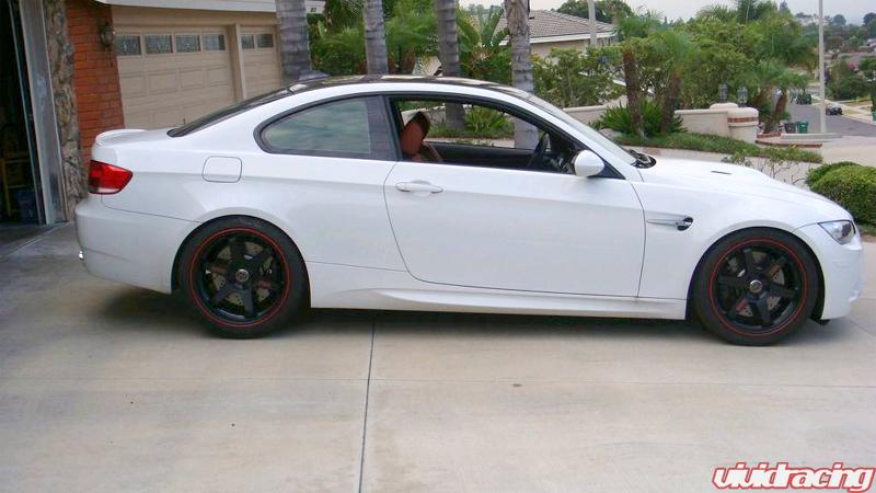 White E92 Bmw M3 W Volks And Lowered On H Amp Rs 6speedonline Porsche Forum And Luxury Car Resource