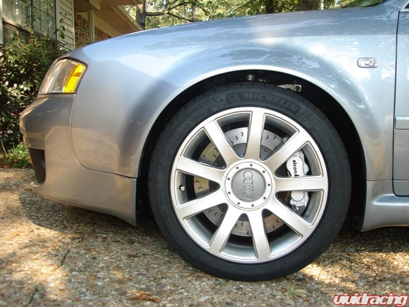 alcon brakes installed on customer 39 s audi rs6. Black Bedroom Furniture Sets. Home Design Ideas