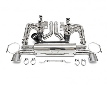 Fabspeed RSR Header Muffler Kit with Heat|Competition