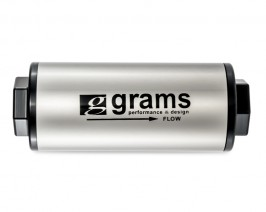 grams 20 micron fuel filter with an -10 fittings