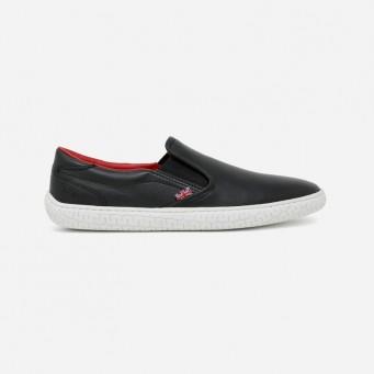 JH-10 - James Hunt Special Edition Slip-On Shoe - Black/Red