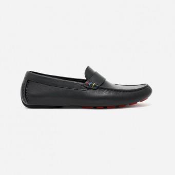 JH-76 - James Hunt Special Edition Loafer - Black/Red