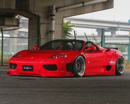Liberty Walk Front Bumpers Side Skirts