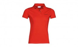 002ad30f7460a1 Porsche Driver Selection Women's Classic Polo Red XL