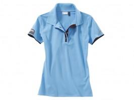 a8b8fecfe Porsche Driver Selection Polo Shirt McQueen Women s Light Blue LRG