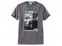0d12c708896dbf Porsche Driver Selection T-Shirt Mcqueen Dark Grey 3XL
