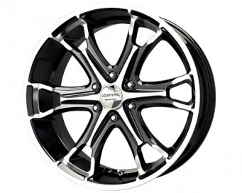Liquid Metal Coil 6-Spoke Wheels