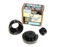 BBK 3 Piece Underdrive Steel Pulley Kit Ford Mustang 86-93