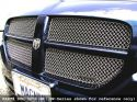 Grillcraft MX Series Silver Steel Grille Upper and Lower Insert Kit Dodge Magnum SE Wagon 2006