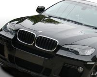 DMC Diamante Nero Headlight Covers BMW X6 09-12