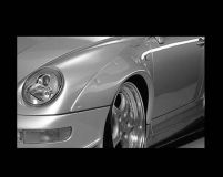 GruppeM Aerodynamics Fender Add-on Porsche 993 Carrera 2 GT2 Turbo 93-98