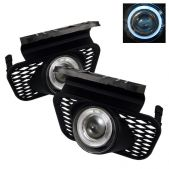Spyder Halo Projector Clear Fog Lights Chevrolet Silverado 03-05 Avalanche 02-06