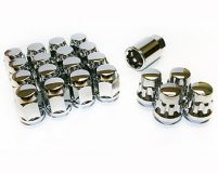 KICS Bullocks and Nut set M12x1.50 Chrome