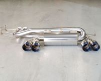 Agency Power Exhaust w/Titanium Tips BMW M3 E46 01-05